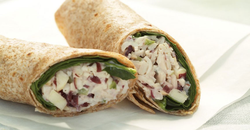 Turkey Apple Wrap