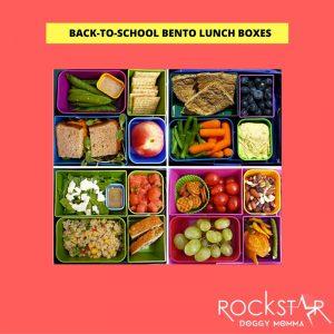 BACK -TO-SCHOOL BENTO BOXES