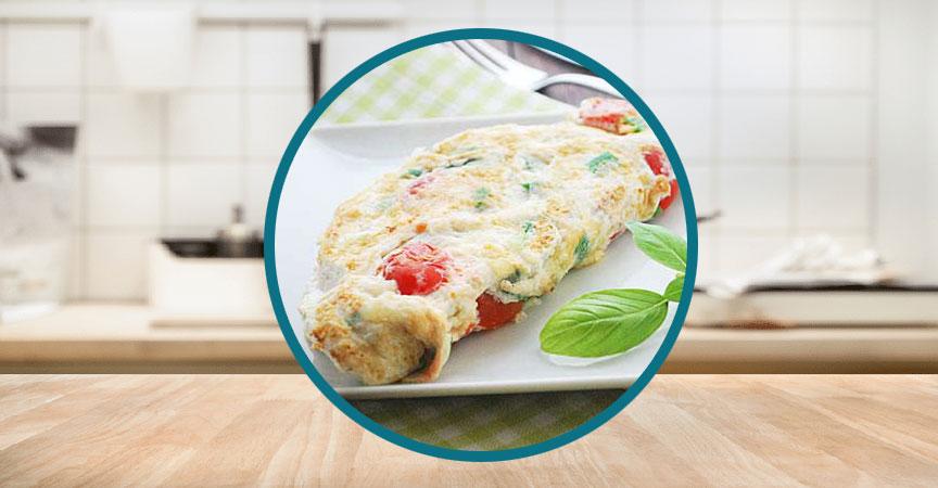 Egg-White Omelet for One