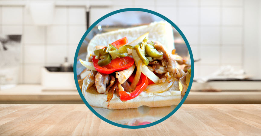 Chicken Philly Cheesesteaks