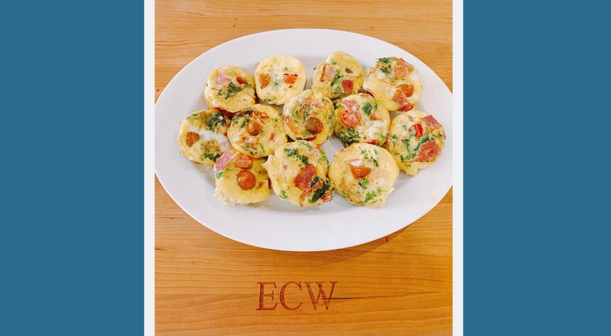 BLT Egg Muffins