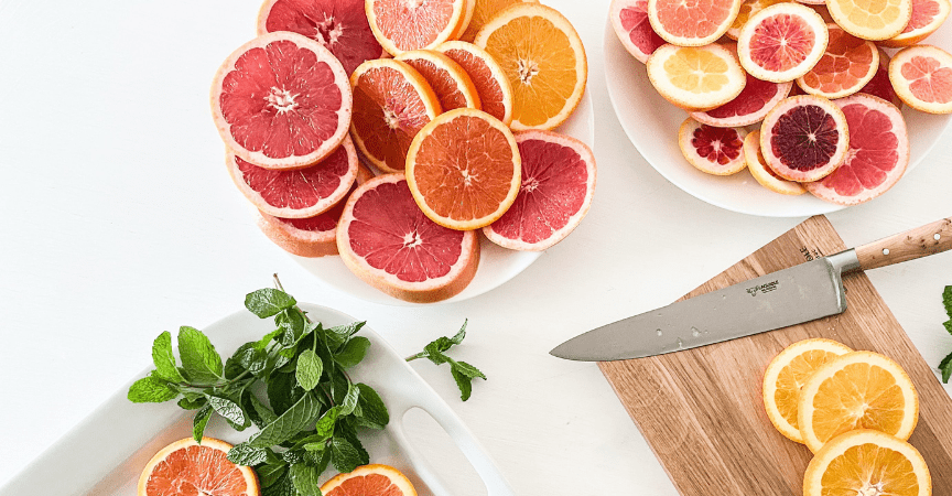 Citrus Peppermint Infused Water Recipe