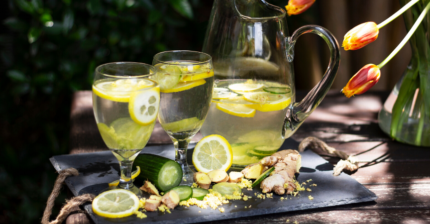 Flat Belly Tonic Infused Water Recipe