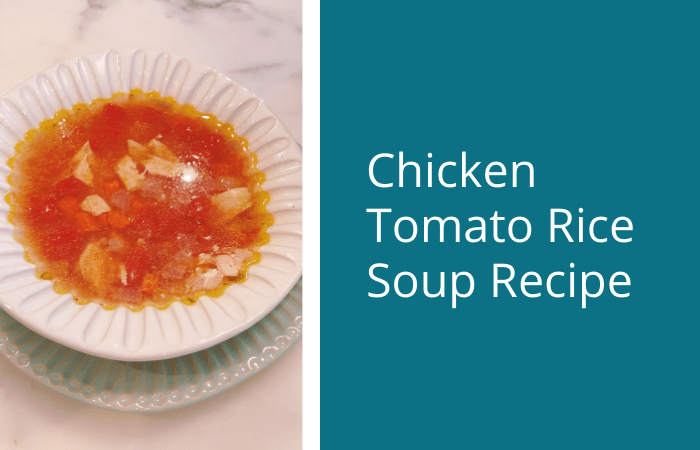 Chicken Tomato Rice Soup Recipe