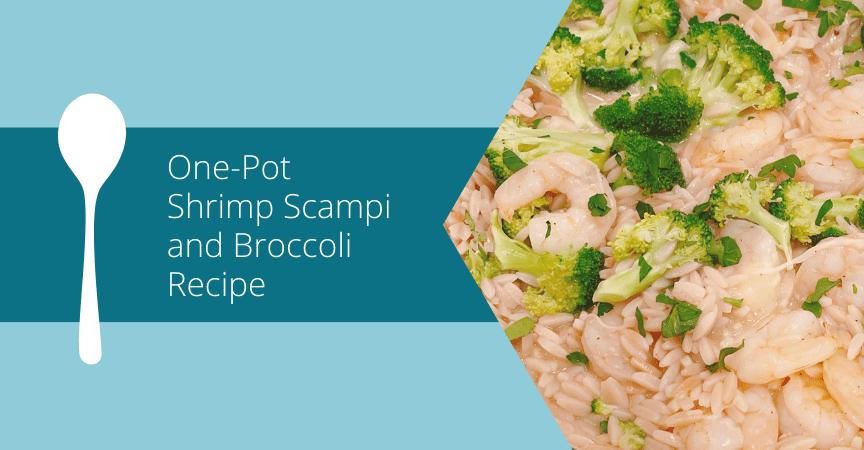 One-Pot Shrimp Scampi and Broccoli Recipe
