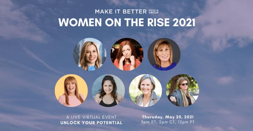 Celebrating Women on the Rise – Virtual Event